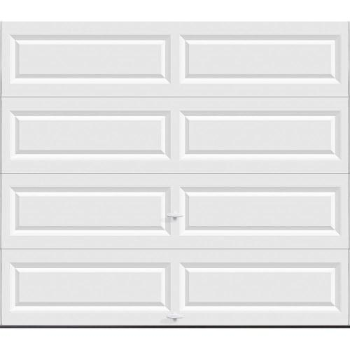 small resolution of classic collection 8 ft x 7 ft non insulated solid white garage door
