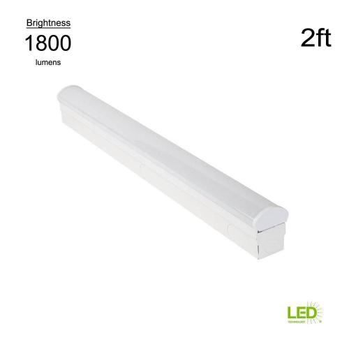 small resolution of this review is from direct wire powered 2 ft white 4000k integrated led strip light