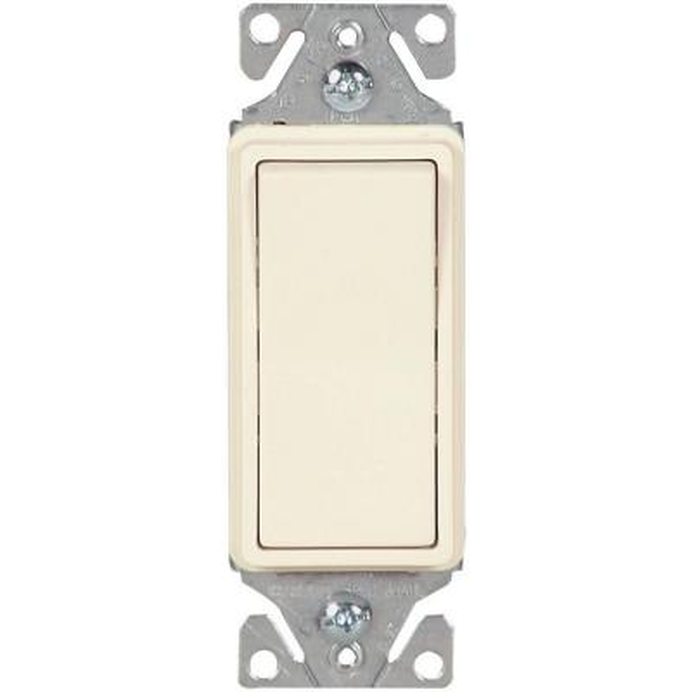 leviton decora 3 way switch wiring diagram real human lung 15 amp 4 rocker light almond r59 05604 120 volt 277 heavy duty grade