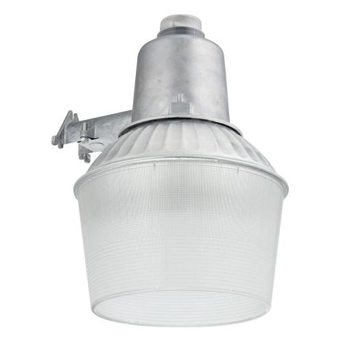 small resolution of 150 watt 1 light gray outdoor area light with dusk to dawn photocell