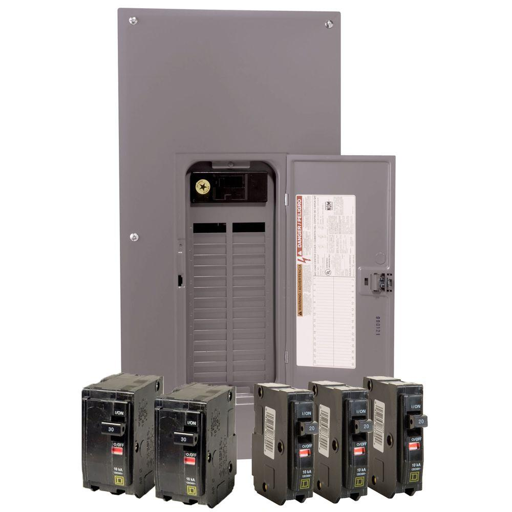 medium resolution of square d qo 200 amp 30 space 40 circuit indoor main breaker load wiring diagram for 200 amp breaker box along with 200 electrical