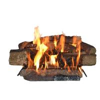Ceramic Logs For Gas Fireplace Home Depot