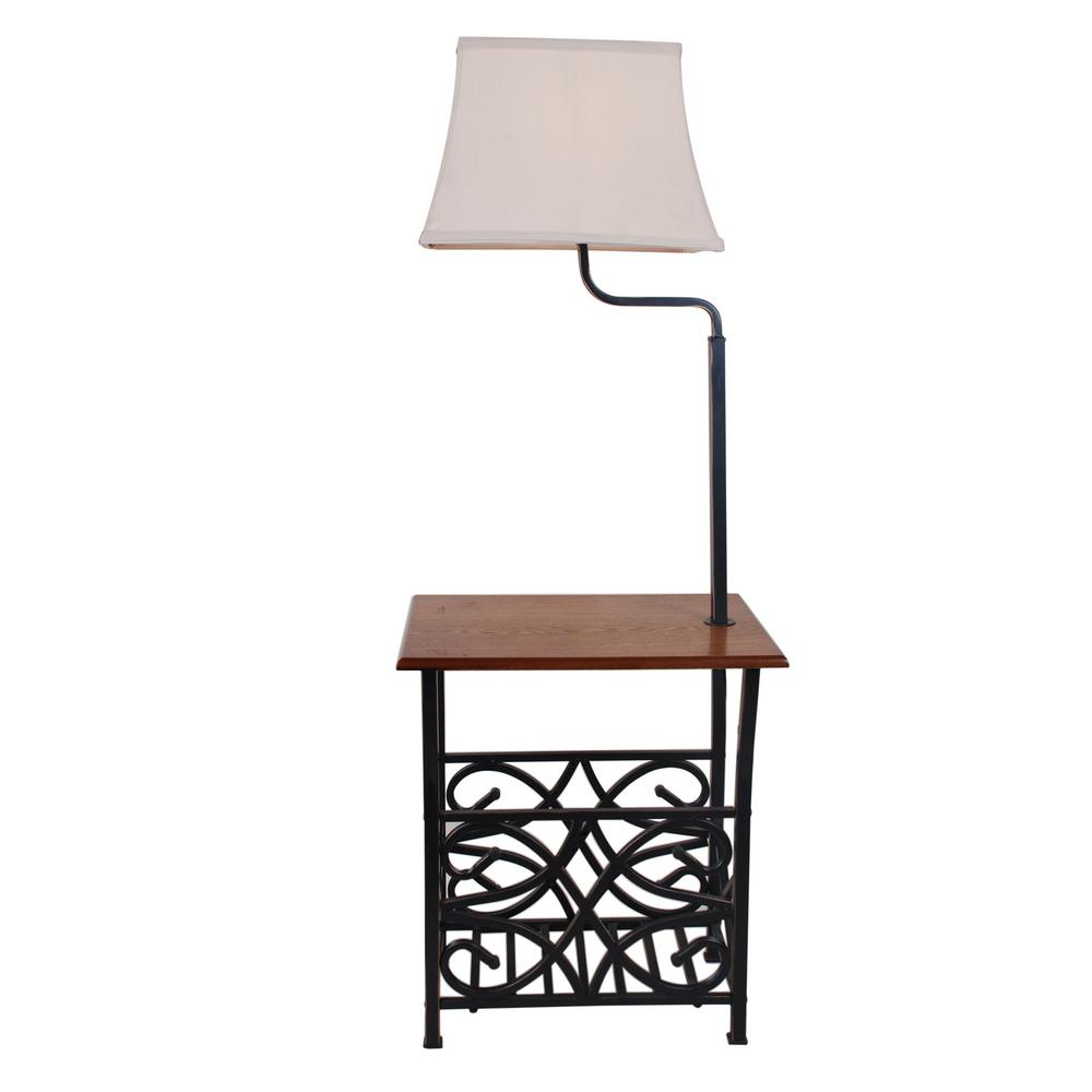 Normande Lighting 54 in. Oil Rubbed Bronze with Magazine