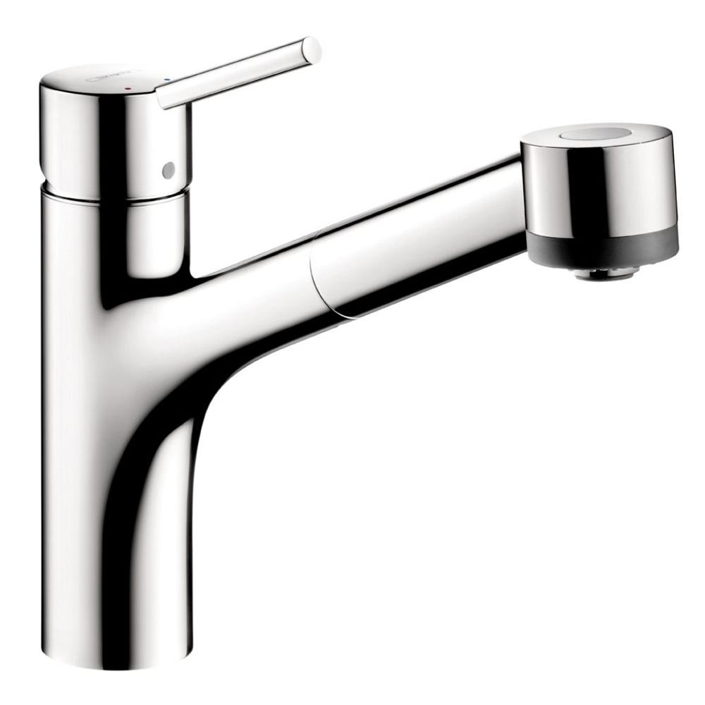 hansgrohe kitchen faucet cabinets buffalo ny talis s single handle pull out sprayer in chrome