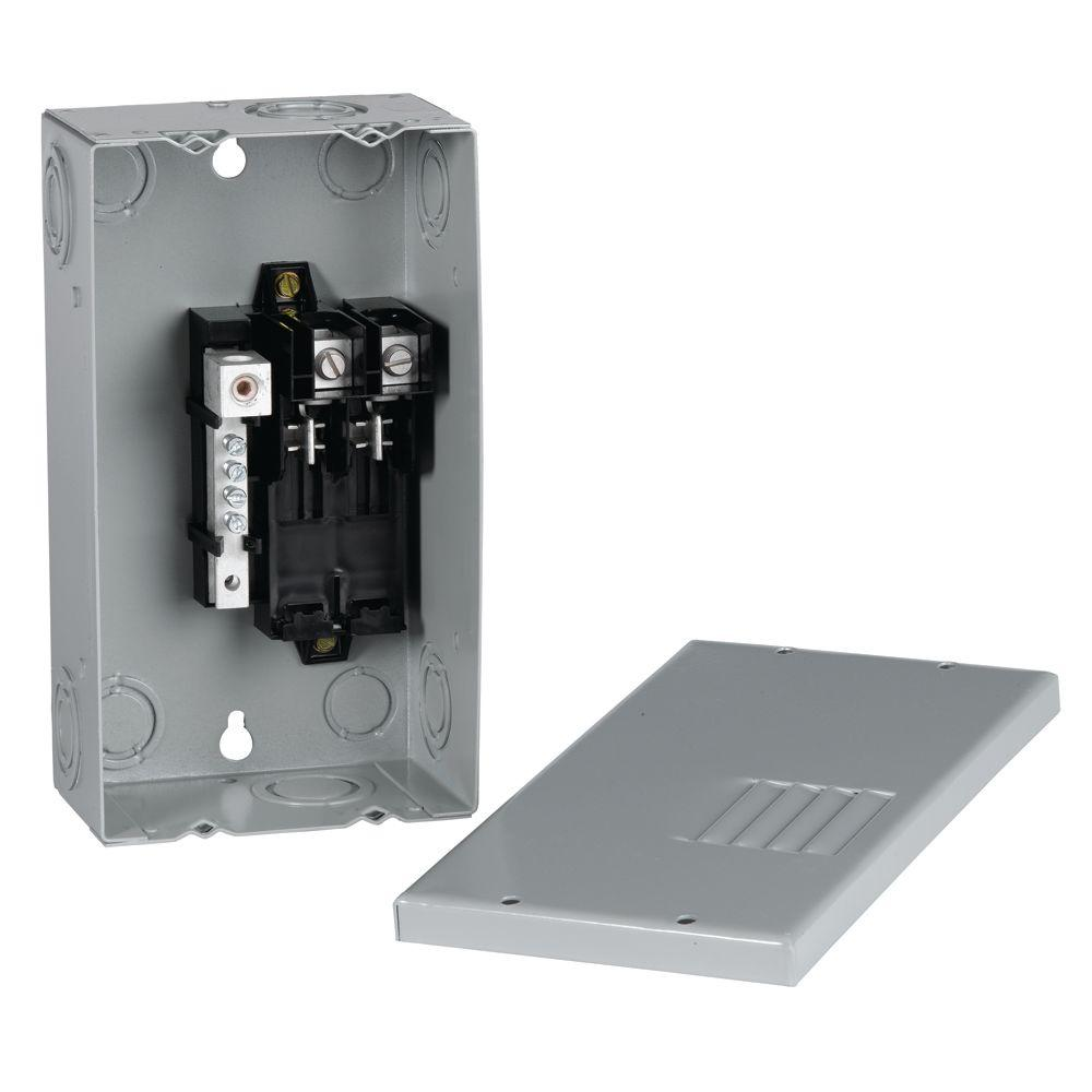 hight resolution of ge powermark gold 70 amp 2 space 4 circuit indoor single phase main wiring a 70 amp breaker box