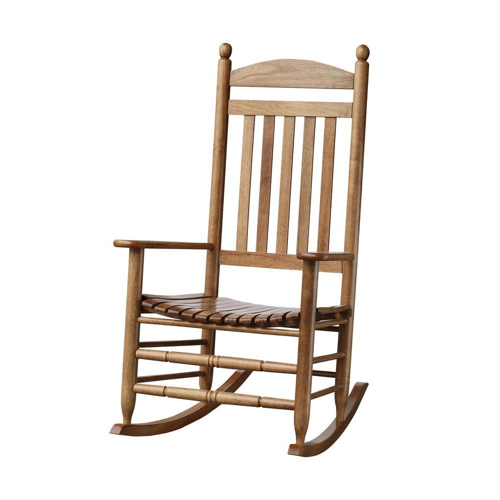 Bradley Maple Slat Patio Rocking Chair200SMRTA  The