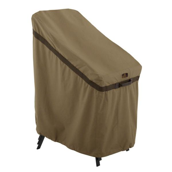 Classic Accessories Hickory Stackable Patio Chair Cover-55-207-012401-ec - Home Depot