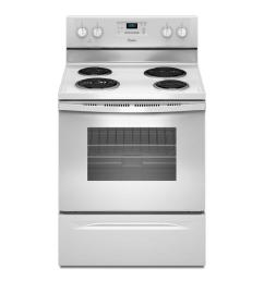 electric range with self cleaning oven in stainless steel wfc310s0es the home depot [ 1000 x 1000 Pixel ]