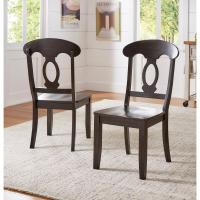 Safavieh Riley Black Wood Dining Chair (Set of 2)-AMH8500B ...