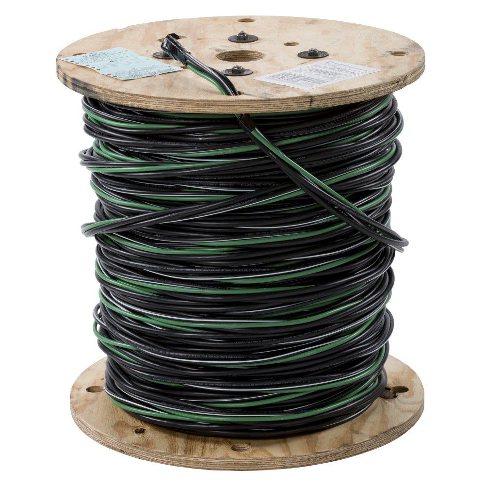 hight resolution of southwire 500 ft 2 2 4 6 black stranded al mhf use