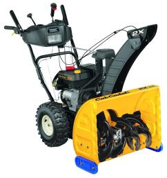cub cadet 24 in 208 cc two stage gas snow blower with electric start and power steering [ 1000 x 1000 Pixel ]
