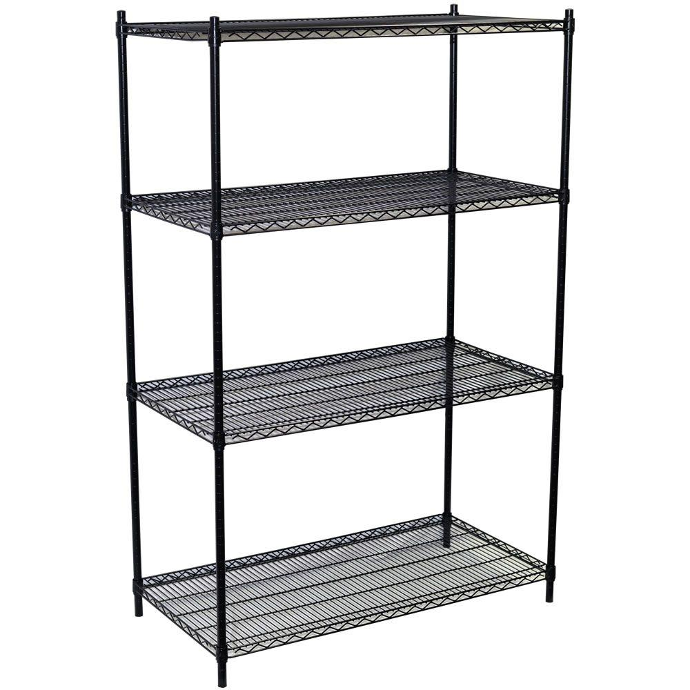 Storage Concepts 63 in. H x 48 in. W x 18 in. D 4-Shelf