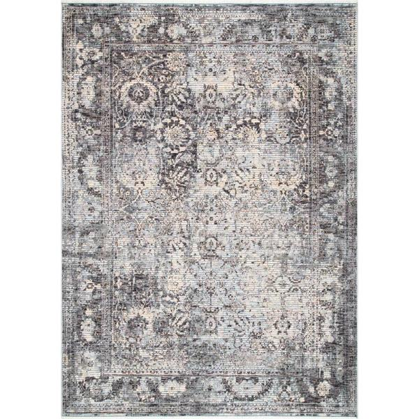 Nuloom Faded Patricia Gray 8 Ft. 10 In. X 12 Area Rug