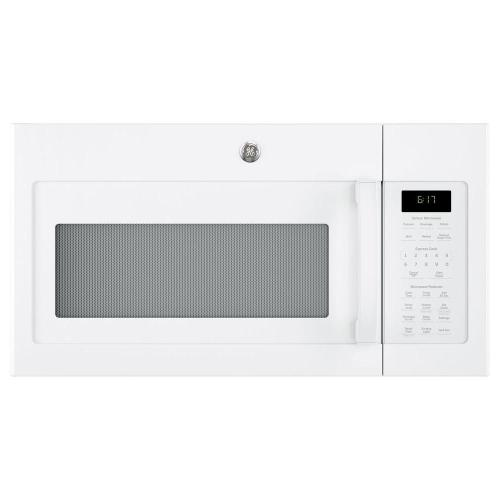 small resolution of ge 1 7 cu ft over the range microwave with sensor cooking in white