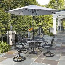 Oakland Living Mississippi Patio 5-piece Dining Set-2011