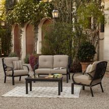 royal garden norman 4-piece patio