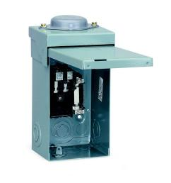 square d qo 40 amp 2 space 2 circuit outdoor main lug load center [ 1000 x 1000 Pixel ]
