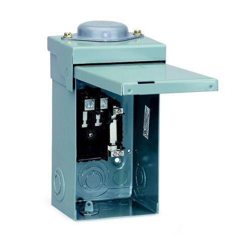 small resolution of square d qo 40 amp 2 space 2 circuit outdoor main lug load center