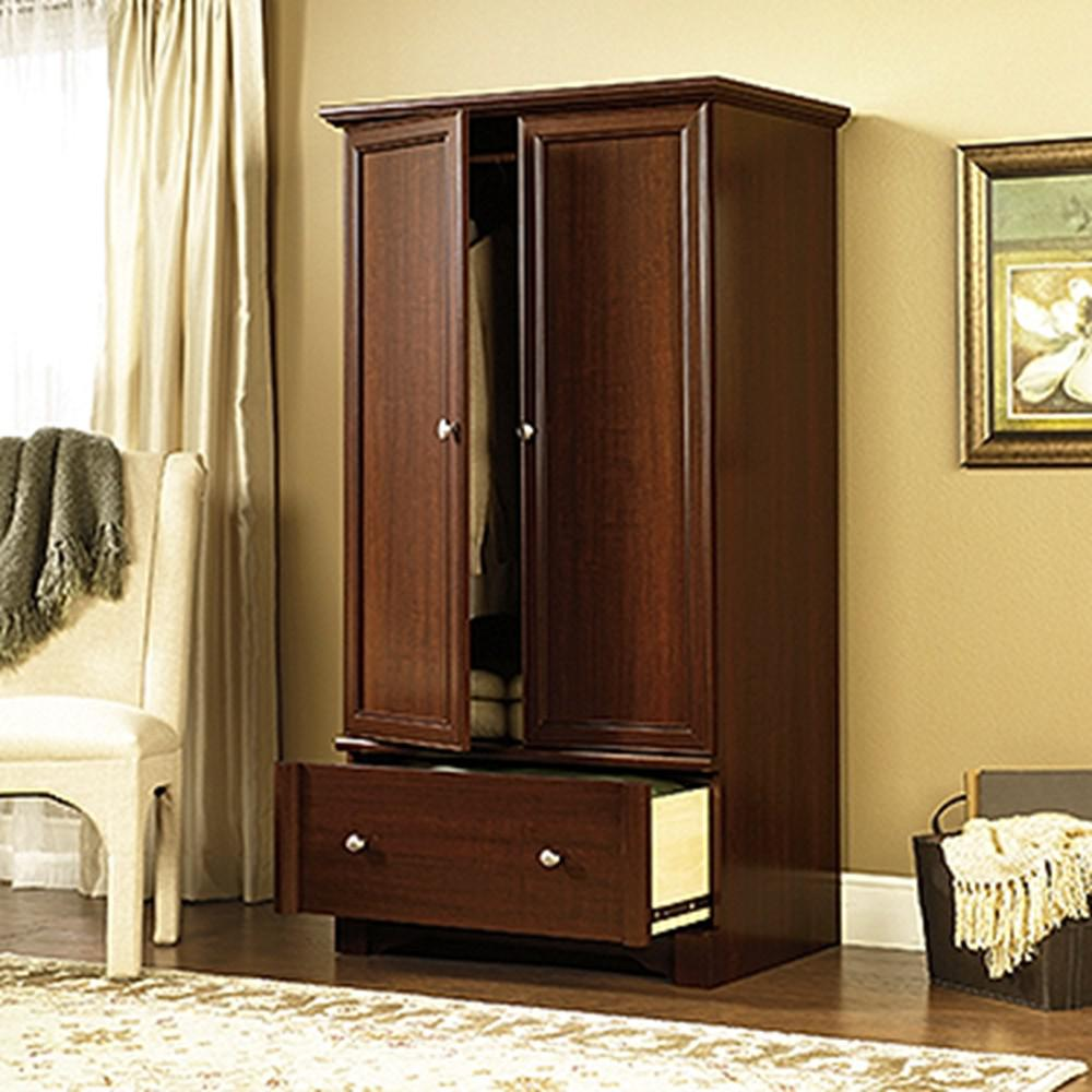 SAUDER Palladia Select Cherry Armoire411843  The Home Depot
