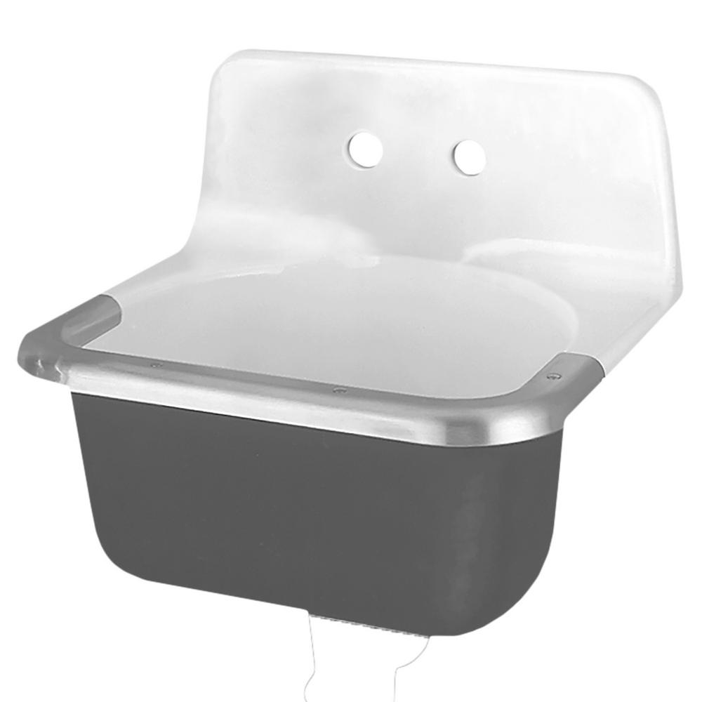 American Standard Regalyn Wall Hung Bathroom Sink in White