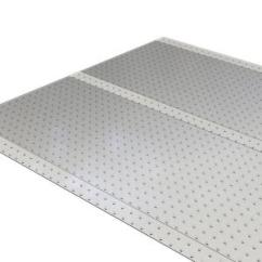 Es Robbins Chair Mat Steelcase Leap V1 Vs V2 Clear 36 In. X 10 Ft. Vinyl Ribbed Runner-184014 - The Home Depot