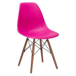 Chair Images Hd Fishing Game Set Poly And Bark Vortex Fuchsia Side With Walnut Legs 105 Wal