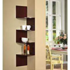 Corner Shelf For Living Room Paint Ideas With Dark Brown Leather Furniture 4d Concepts Hanging Wall Storage 99600 The Home Depot