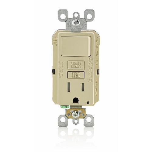 small resolution of 15 amp smartlockpro combination gfci outlet and switch ivory