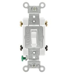 leviton 30 amp industrial double pole switch white r62 03032 2ws the home depot [ 1000 x 1000 Pixel ]