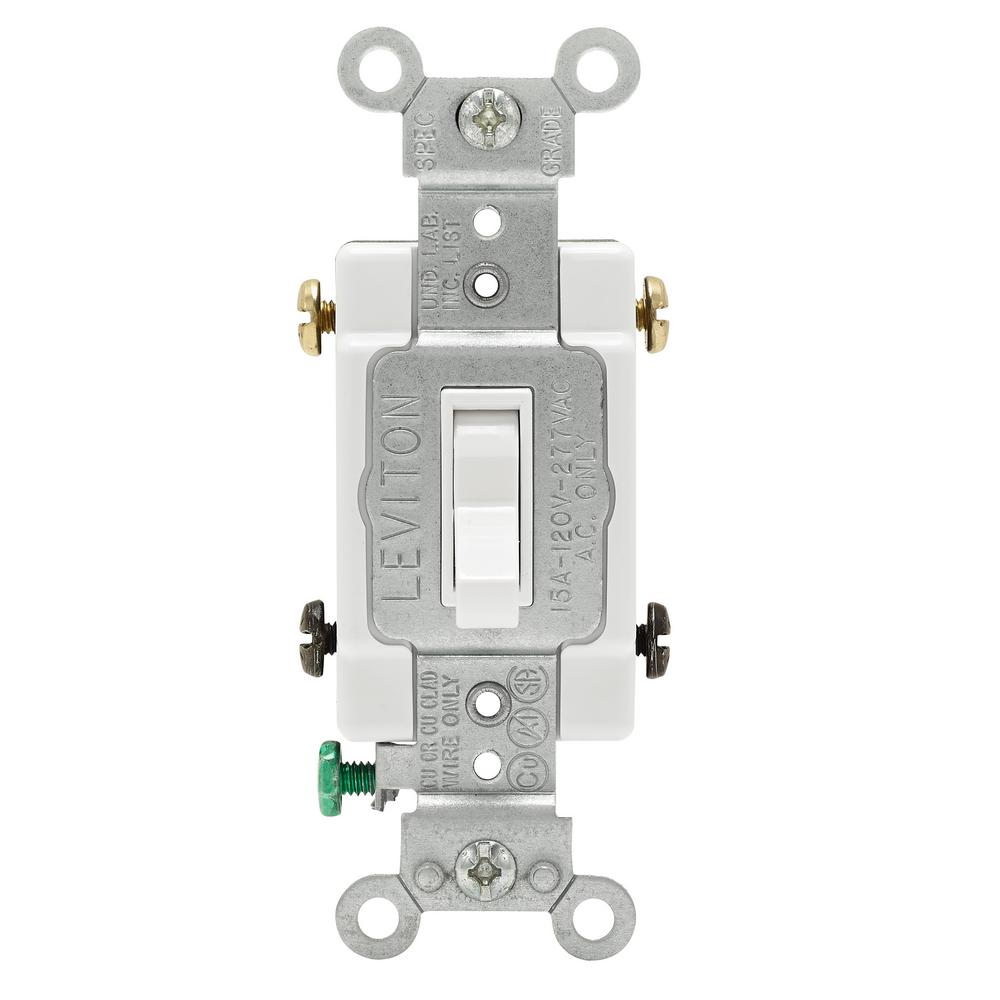 medium resolution of leviton 30 amp industrial double pole switch white r62 03032 2ws the home depot