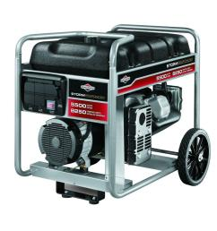briggs stratton 5 500 watt gasoline powered portable generator [ 1000 x 1000 Pixel ]
