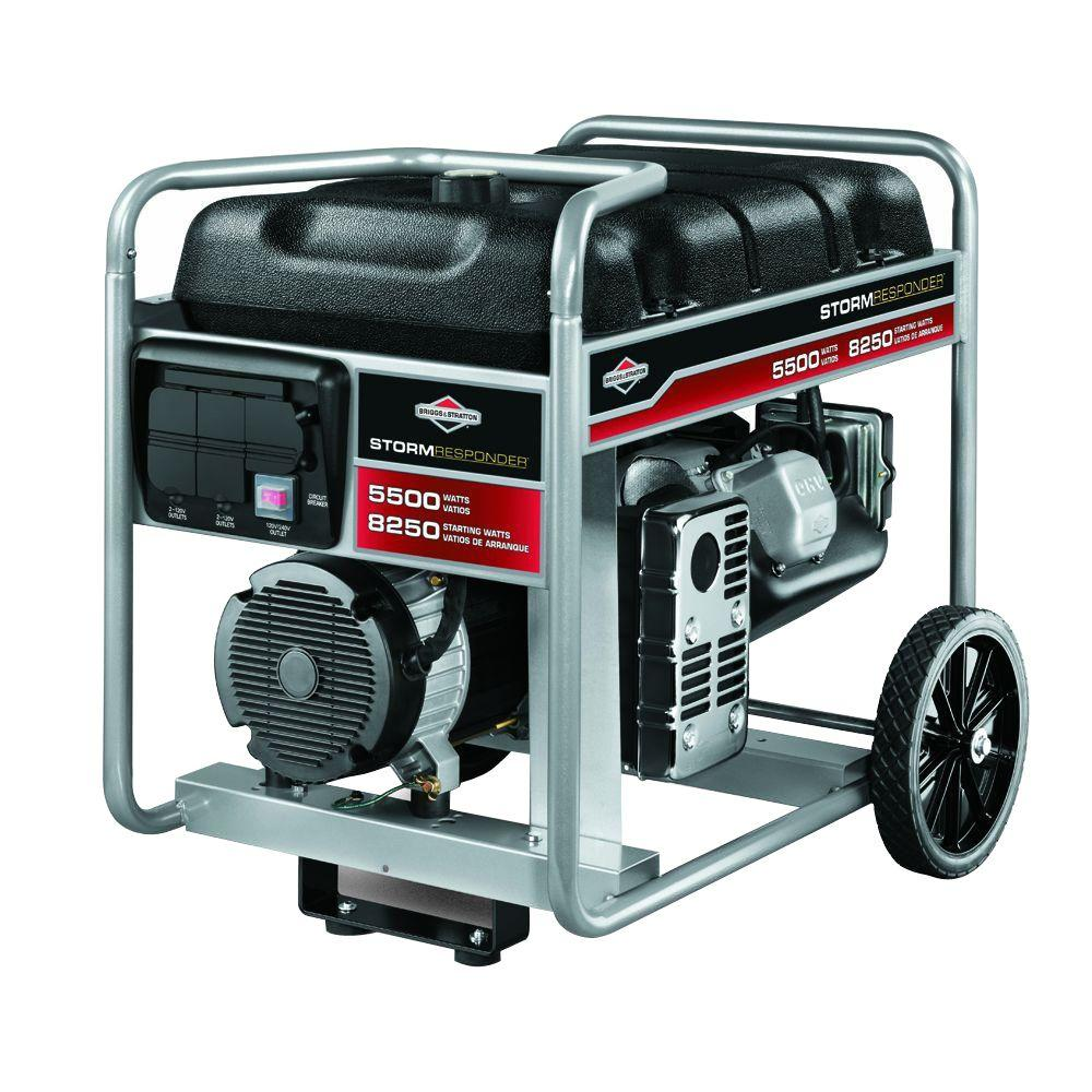 medium resolution of briggs stratton 5 500 watt gasoline powered portable generator