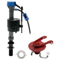 Fluidmaster PerforMax Toilet Fill Valve and Flapper Repair ...