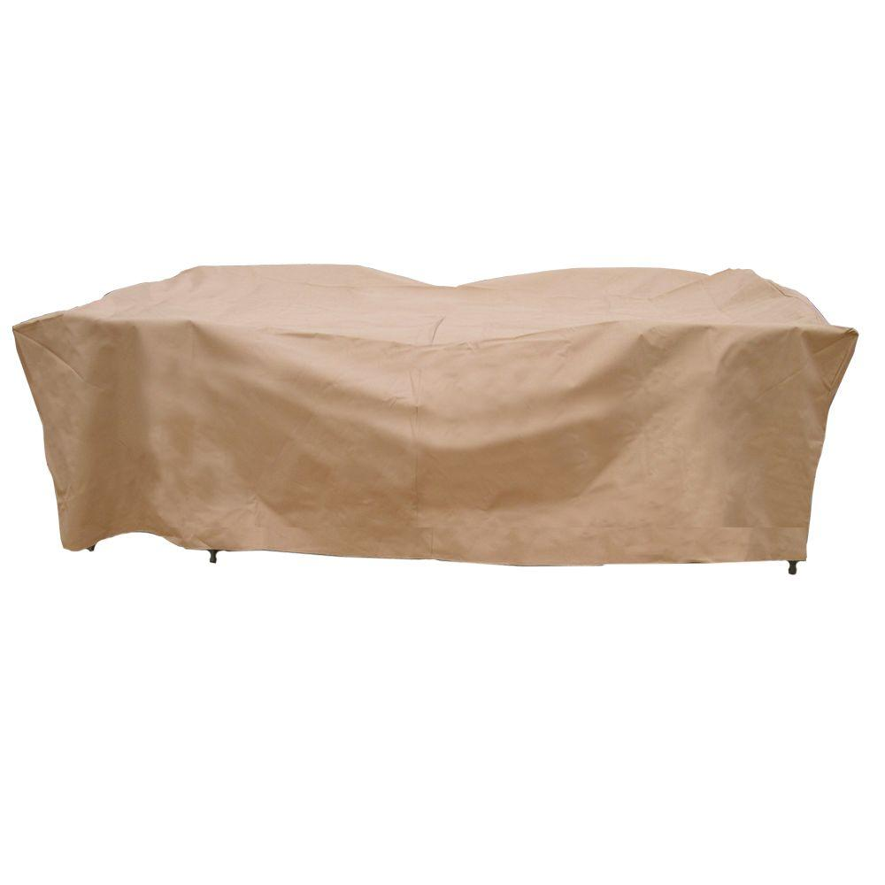 chair covers garden nail in glides hearth polyester deluxe rectangular patio table and set cover with pvc coating