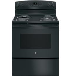 ge 30 in 5 0 cu ft electric range with self cleaning oven [ 1000 x 1000 Pixel ]