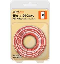 cerrowire 65 ft 20 2 solid bell wire 206 0101ba3 the home depot rh homedepot com doorbell wiring 2 doorbell wiring 2 [ 1000 x 1000 Pixel ]