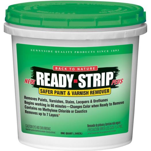 Ready Strip 1 Qt Safer Paint And Varnish Remover Environmentally Friendly