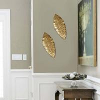 Stratton Home Decor Elegant Metal Leaf Wall Decor-SHD0112 ...