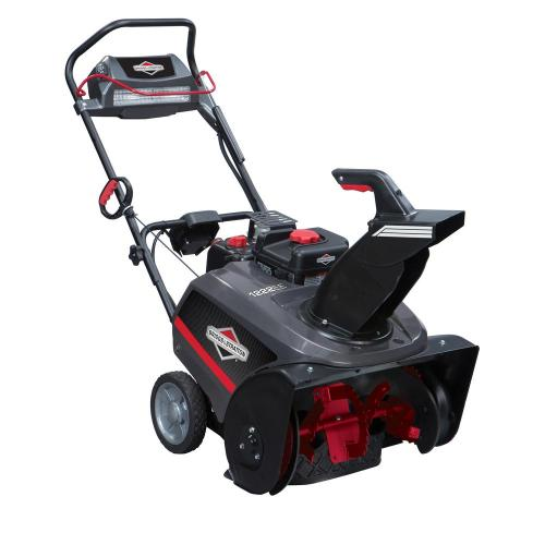 small resolution of 250cc single stage electric start gas snowthrower with snow shredder