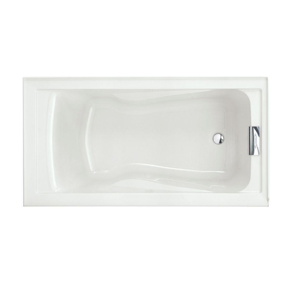 American Standard Evolution 5 ft Acrylic Reversible Drain
