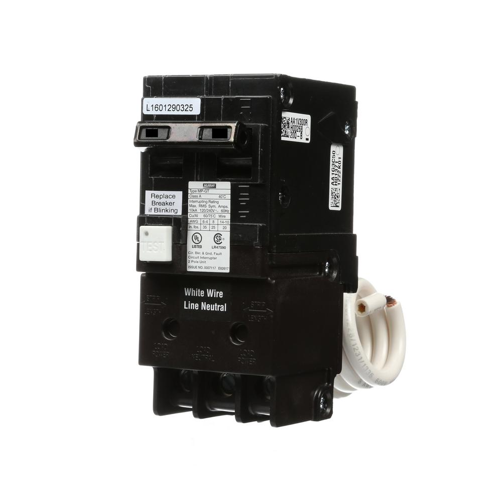 hight resolution of 15 amp double pole type mp gt2 gfci circuit breaker