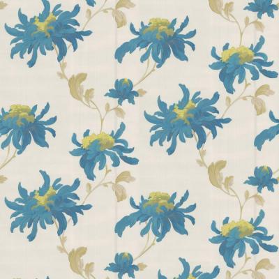 Graham & Brown Sadie Teal Removable Wallpaper-30-668 - The ...