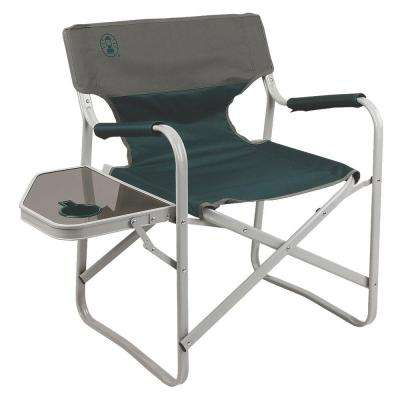 home depot camping chairs j&f chair covers dublin facebook coleman furniture the outpost elite deck with side table