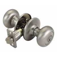 Design House Cambridge Satin Nickel Entry Door Knob with ...