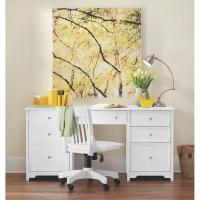 Home Decorators Collection Oxford White Desk-0151200410 ...