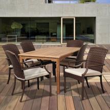 Hanover Monaco 7-piece Outdoor Patio Dining Set