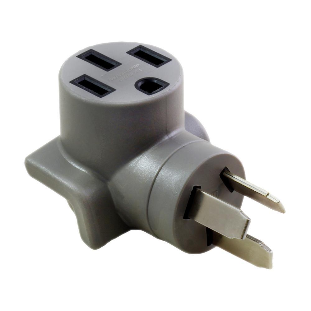 medium resolution of ac works electric vehicle charging adapter for tesla use 50 amp nema 10