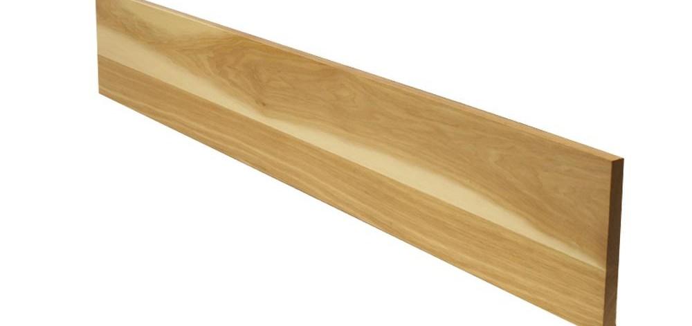Stairtek 75 In X 7 5 In X 42 In Prefinished Natural Hickory | Prefinished Hickory Stair Treads | Hickory Natural | Hardwood Lumber | Hand Scraped | Stair Nosing | Retread