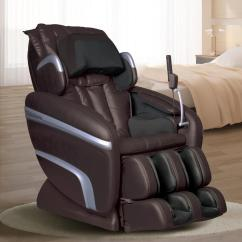 Recliner Massage Chair Oval Back Dining Titan Osaki Black Faux Leather Reclining Os 7200hblack This Review Is From Brown