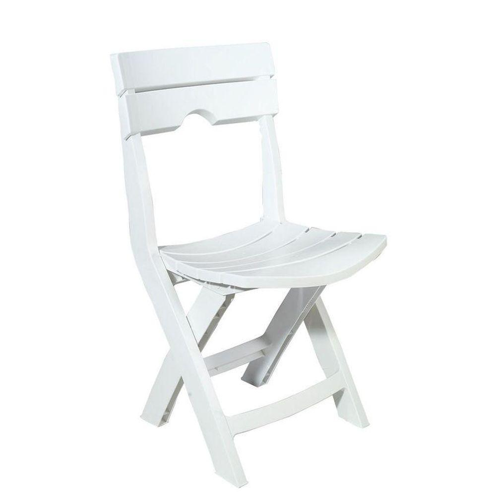home depot chairs plastic office chair posture corrector patio furniture the quik fold white resin outdoor lawn
